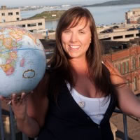 Travel Writer Cailin O'Neil wins the Travel Writers Exchange Scavenger Hunt