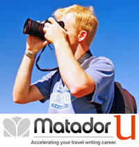 MatadorU Travel Writing Program