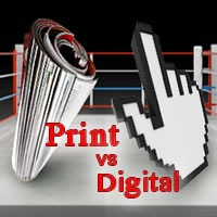 A Clash of Titans: Digital Versus Print Travel Media