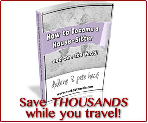 Become a House Sitter and Save thousands while traveling the world